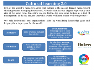 cultural learning